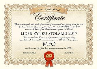 Lider Rynku Stolarki 2017