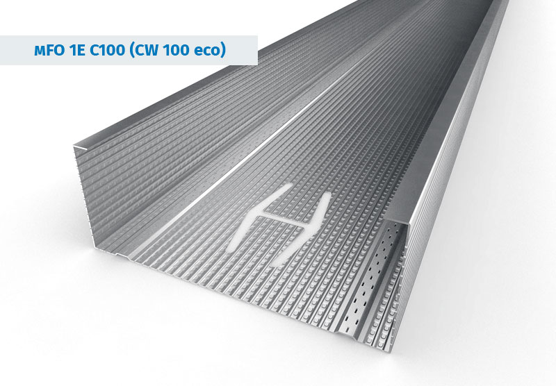 CW 100 eco Stainless Steel Profiles