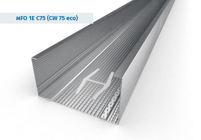 CW 75 Eco Stainless Steel Profiles
