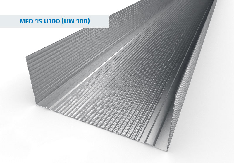 UW100 Stud Sections from Galvanised Steel Profiles