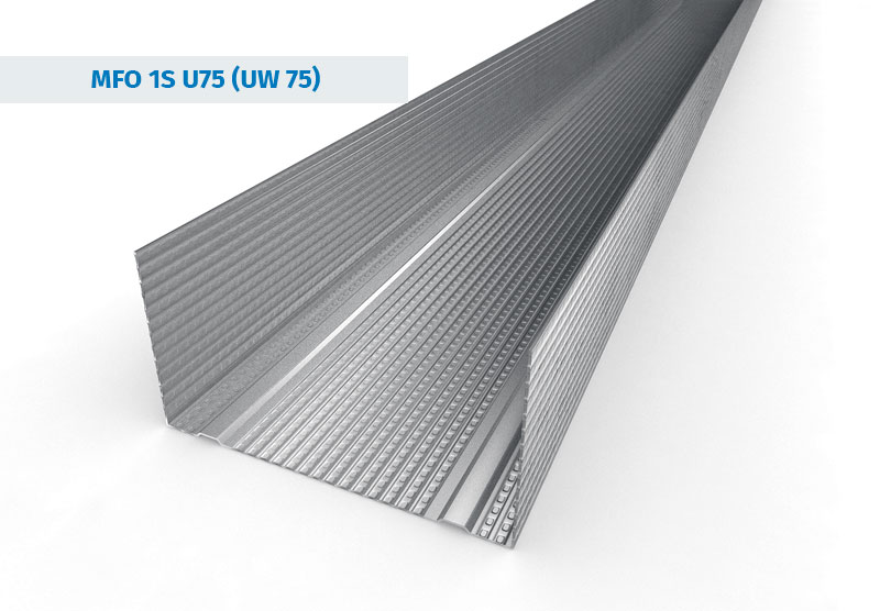 UW75 Stud Sections from Galvanised Steel Profiles