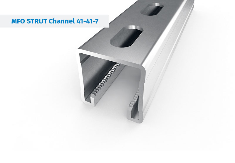 Steel Profile and Mounting rail - STRUT