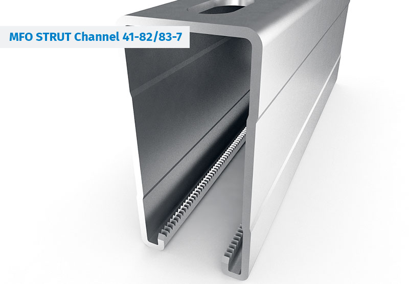 Coled rolled Steel Profiles - STRUT Channels