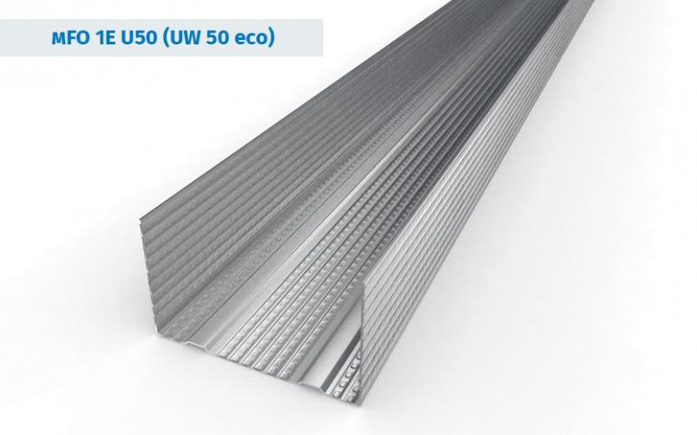 UW50 eco Galvanized Steel Profiles