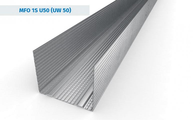 UW50 Stud Sections from Galvanised Steel Profiles